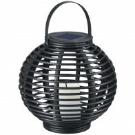 LED Tafellamp - Trion Comelo - Zonne-energie - Oplaadbaar - Rond - Mat Bruin - Kunststof