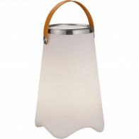 LED Tafellamp - Trion Jamino - Bluetooth Speaker - Spatwaterdicht - Afstandsbediening - Oplaadbaar - RGBW - Wit
