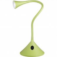 LED Tafellamp - Trion Vipa - 3W - Warm Wit 3000K - Rond - Mat Groen - Kunststof