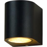 LED Tuinverlichting - Buitenlamp - Sanola Hoptron - GU10 Fitting - Rond - Mat Zwart - Aluminium