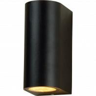 LED Tuinverlichting - Buitenlamp - Sanola Hoptron XL - GU10 Fitting - Rond - Mat Zwart - Aluminium