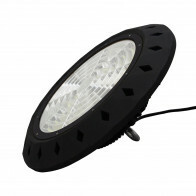 LED UFO High Bay 100W - Aigi - Magazijnverlichting - Waterdicht IP65 - Helder/Koud Wit 5700K - Aluminium