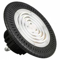 LED UFO High Bay - OSRAM - 100W High Lumen - Magazijnverlichting - Waterdicht IP65 - Natuurlijk Wit 4000K - Aluminium