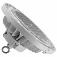 LED UFO High Bay - OSRAM - 150W UGR17 Dimbaar - Magazijnverlichting - Waterdicht IP65 - Natuurlijk Wit 4000K - Aluminium