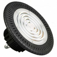 LED UFO High Bay - OSRAM - 200W High Lumen - Magazijnverlichting - Waterdicht IP65 - Helder/Koud Wit 6000K - Aluminium