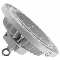 LED UFO High Bay - OSRAM - 200W UGR17 Dimbaar - Magazijnverlichting - Waterdicht IP65 - Helder/Koud Wit 6000K - Aluminium