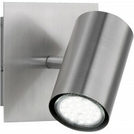 LED Wandspot - Trion Mary - GU10 Fitting - Vierkant - Mat Nikkel - Aluminium