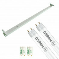 OSRAM - LED TL Armatuur met T8 Buis - SubstiTUBE Value EM 865 - Aigi Dybolo - 120cm Dubbel - 32.4W - Helder/Koud Wit 6500K