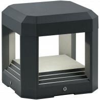 OSRAM - LED Tuinverlichting - Tuinlamp - Trion Logani - Wand - 11W - Mat Zwart - Aluminium