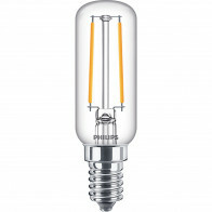 PHILIPS - LED Lamp - CorePro Tube Filament 827 T25L - E14 Fitting - 2.1W - Warm Wit 2700K | Vervangt 25W
