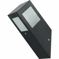 PHILIPS - LED Tuinverlichting - Wandlamp Buiten - CorePro LEDbulb 827 A60 - Kavy 1 - E27 Fitting - 8W - Warm Wit 2700K - Vierkant - Aluminium