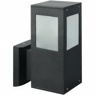 PHILIPS - LED Tuinverlichting - Wandlamp Buiten - CorePro LEDbulb 827 A60 - Kavy 2 - E27 Fitting - 8W - Warm Wit 2700K - Vierkant - Aluminium
