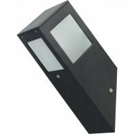PHILIPS - LED Tuinverlichting - Wandlamp Buiten - CorePro Lustre 827 P45 FR - Kavy 1 - E27 Fitting - 4W - Warm Wit 2700K - Vierkant - Aluminium