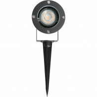 PHILIPS - Prikspot met Stekker - CorePro 830 36D - Sanola Urbun - GU10 Fitting - 4.6W - Warm Wit 3000K - Rond - Aluminium