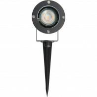 PHILIPS - Prikspot met Stekker - CorePro 840 36D - Sanola Urbun - GU10 Fitting - 4.6W - Natuurlijk Wit 4000K - Rond - Aluminium