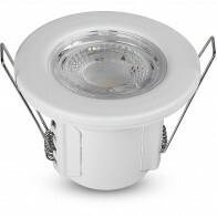 SAMSUNG - LED Spot - Inbouwspot - Viron Cunvi - 5W - Waterdicht IP65 - Dimbaar - Helder/Koud Wit 6400K - Mat Wit - Aluminium - Rond