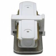 Spanningsrail Doorverbinder - Facto - Recht - 1 Fase - Wit