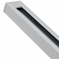 Spanningsrail - Facto - 1 Fase - Aluminium Glans Wit - 1m