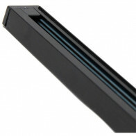 Spanningsrail - Facto - 1 Fase - Aluminium Glans Zwart - 1m