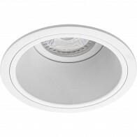 Spot Armatuur GU10 - Pragmi Minko Pro - Inbouw Rond - Mat Wit - Aluminium - Verdiept - Ø90mm