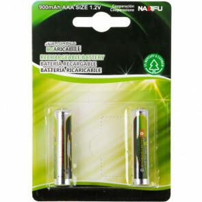 Batterij - Aigi Opy - AAA/HR03 - Oplaadbaar - 1.2V - Alkaline Batterijen - 900 mAh - 2 Stuks