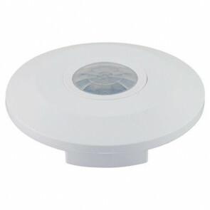 Bewegingssensor - Mondy - Opbouw Rond - Mat Wit Kunststof - 360° 4m