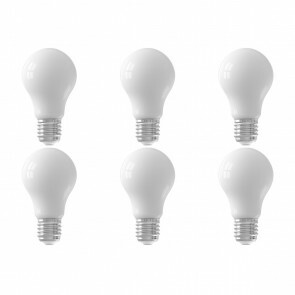 CALEX - LED Lamp 6 Pack - Smart LED A60 - E27 Fitting - Dimbaar - 7W - Aanpasbare Kleur - Mat Wit