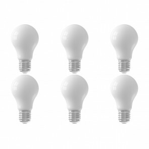 CALEX - LED Lamp 6 Pack - Smart LED A60 - E27 Fitting - Dimbaar - 7W - Aanpasbare Kleur - Mat Wit