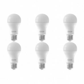 CALEX - LED Lamp 6 Pack - Smart LED A60 - E27 Fitting - Dimbaar - 9W - Aanpasbare Kleur - Mat Wit