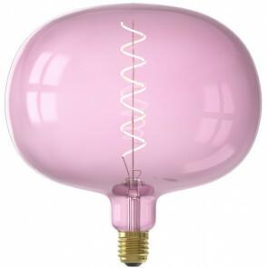 CALEX - LED Lamp - Boden Quartz - E27 Fitting - Dimbaar - 4W - Warm Wit 2000K - Roze