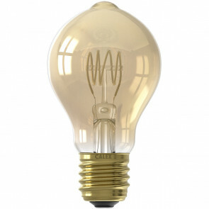 CALEX - LED Lamp - Filament A60 - E27 Fitting - Dimbaar - 4W - Warm Wit 2100K - Amber
