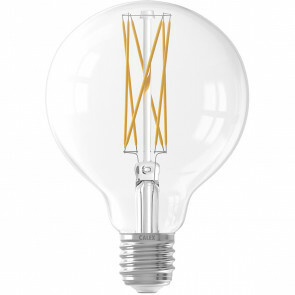 CALEX - LED Lamp - Filament G80 - E27 Fitting - Dimbaar - 4W - Warm Wit 2300K - Transparant Helder