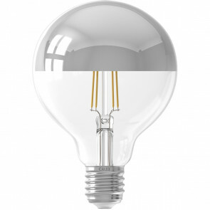 CALEX - LED Lamp - Globe - Filament G95 - E27 Fitting - Dimbaar - 4W - Warm Wit 2300K - Transparant Helder
