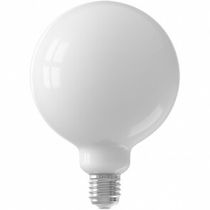 CALEX - LED Lamp - Globe - Smart LED G125 - E27 Fitting - Dimbaar - 7W - Aanpasbare Kleur - Mat Wit