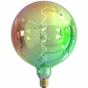 CALEX - LED Lamp - Kalmar Metallic G200 - E27 Fitting - Dimbaar - 4W - Warm Wit 2000K - Meerkleurig