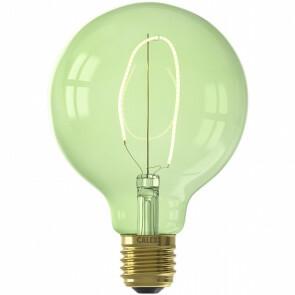 CALEX - LED Lamp - Nora Emerald G95 - E27 Fitting - Dimbaar - 4W - Warm Wit 2200K - Groen