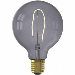 CALEX - LED Lamp - Nora Topaz G95 - E27 Fitting - Dimbaar - 4W - Warm Wit 2200K - Grijs