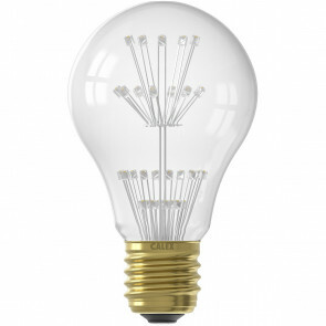 CALEX - LED Lamp - Pearl A60 - E27 Fitting - 1W - Warm Wit 2100K - Transparant Helder