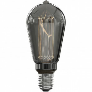 CALEX - LED Lamp - Rustic ST64 - E27 Fitting - Dimbaar - 3W - Warm Wit 2000K - Rookkleur