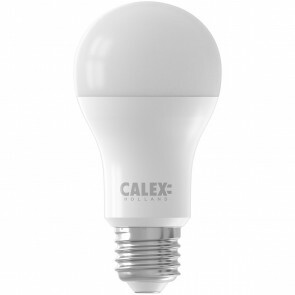CALEX - LED Lamp - Smart LED A60 - E27 Fitting - Dimbaar - 9W - Aanpasbare Kleur - Mat Wit