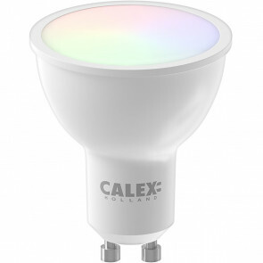 CALEX - LED Spot - Smart Reflectorlamp - GU10 Fitting - 5W - Aanpasbare Kleur CCT - RGB - Wit
