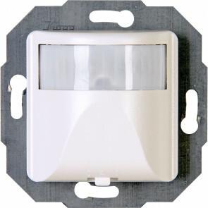 KOPP - Infrarood Bewegingssensor - Athenis INFRAcontrol - Inbouw - 180° - 3-draads - 7-100W - Helder Glans Wit