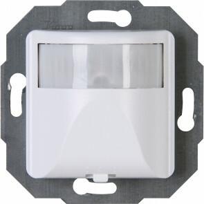 KOPP - Infrarood Bewegingssensor - Paris INFRAcontrol - Inbouw - 180° - 2-draads - 40-400W - Arctic Mat Wit