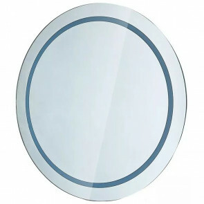 LED Badkamerspiegel - Viron Mirron - Ø60cm - Rond - Anti Condens - Aan/Uit Schakelaar - Helder/Koud Wit 6400K
