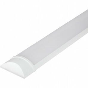 LED Balk - Viron Kilas - 15W High Lumen - Warm Wit 3000K - Mat Wit - Kunststof - 60cm