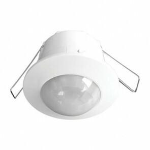 LED bewegingssensor/bewegingsmelder/PIR Sensor Inbouw Wit Kunststof 6m 360 Graden IP20