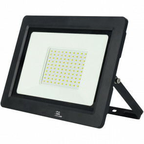 LED Bouwlamp 100 Watt - LED Schijnwerper - Alsa - Helder/Koud Wit 6400K - Waterdicht IP65