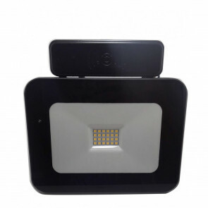 LED Bouwlamp 20 Watt met sensor - LED Schijnwerper - Dimbaar - Natuurlijk Wit 4000K - Waterdicht IP65 1