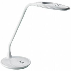 LED Bureaulamp met Vergrootglas - Aigi Magnoty - 5W - Natuurlijk Wit 5000K - Dimbaar - Glans Wit
