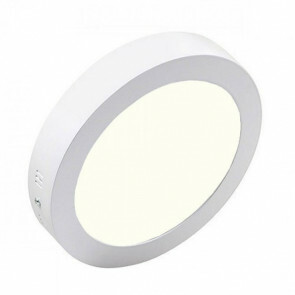 LED Downlight - Opbouw Rond 12W - Natuurlijk Wit 4200K - Mat Wit Aluminium - Ø170mm-